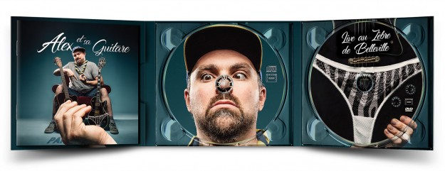 mockup digipack party intime face